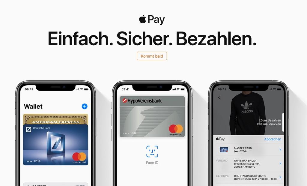 Apple Pay llega por fin a Alemania(país) y se consolida en Europa