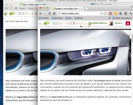 Macbook pro retina ejemplo texto