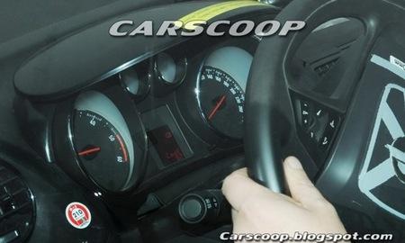 Opel Meriva 2010 fotos espía