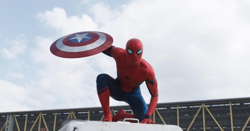 Capitan America Civil War Spider Man