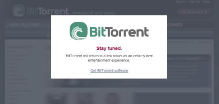 Bittorrent presenta su portal de descargas