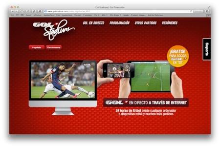 Gol Televisión podrá verse a través de internet por sus abonados