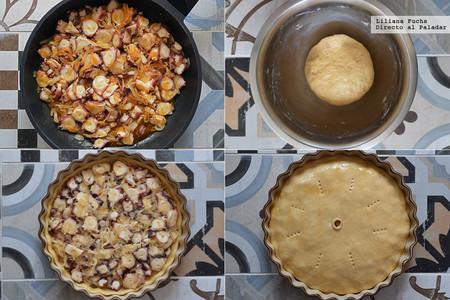 Empanada de Pulpo. Pasos