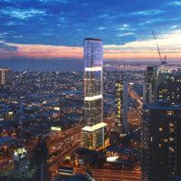 Este impresionante rascacielos contará con más de 3.000 metros cuadrados de paneles solares