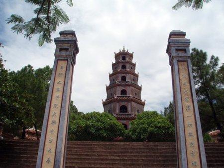 Vietnam: La pagoda de Thien Mu en Hué