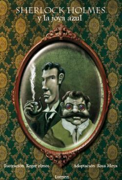 'Sherlock Holmes y el caso de la joya azul', un álbum ilustrado