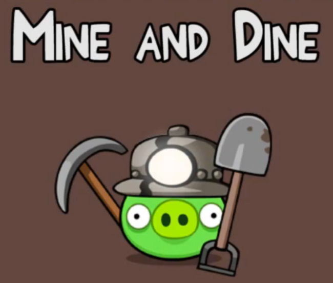 Angry Birds Mine and Dime