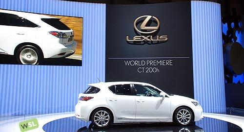 Foto de Embelezzia en la presentación mundial del Lexus CT 200h (23/24)