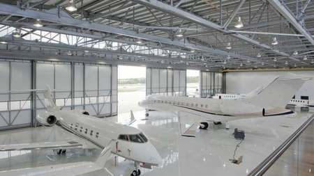 Espectacular Sala VIP en el aeropuerto de Biggin Hill