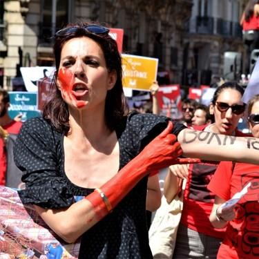 """Los carniceros franceses piden a la policía que les proteja de los ataques de los veganos, que ejercen """"una forma de terrorismo"""""""