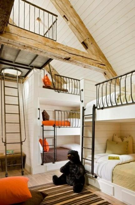 Bunk beds for teenagers with stairs - Por 250 Ltimo Una Habitaci 243 N Para Cinco Ni 241 Os Salvo Que Recurramos