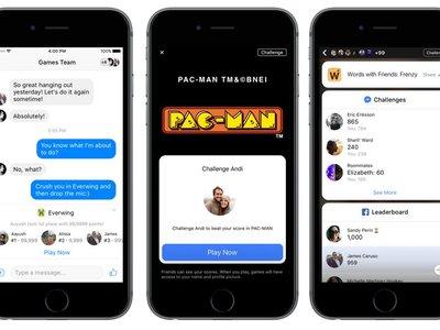 Chatea y juega: Facebook anuncia Instant Games para Messenger