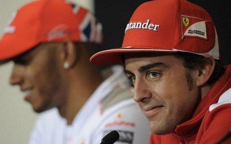 Fernando Alonso logra el mejor tiempo en unos libres 3 en seco