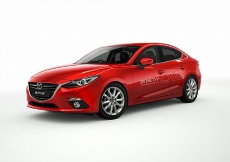 Mazda 3 Híbrido y GNC para el Salón de Tokio
