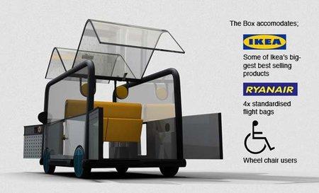 BOX, el coche eléctrico ideal para ir de compras