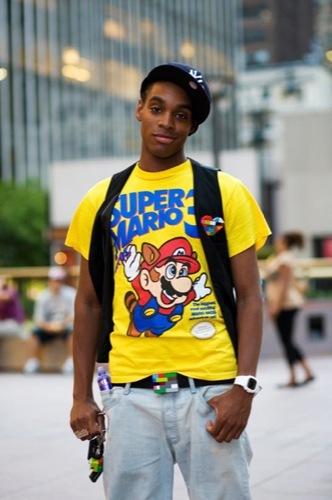 Mario y el color en la moda