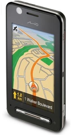 Mio Explora K70 combina móvil y navegador GPS