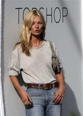 Kate Moss presentará su propia ropa para Topshop