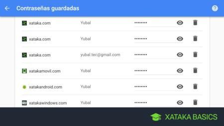 Cómo ver tus contraseñas guardadas en Chrome desde cualquier dispositivo o navegador