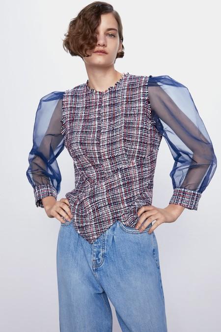 Zara tiene las prendas de tweed más ideales, el tejido de tendencia de esta primavera 2020