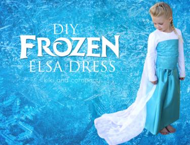 Once disfraces DIY para niños: Frozen y otras princesas Disney