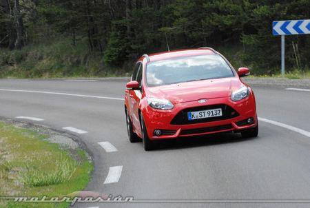 Ford Focus ST, presentación y prueba en Niza (parte 1)