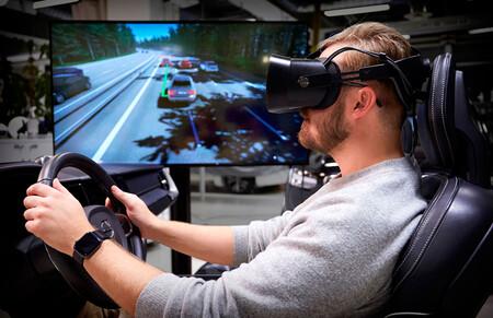 Así es el avanzado simulador de conducción de realidad virtual que utiliza Volvo para hacer sus coches más seguros
