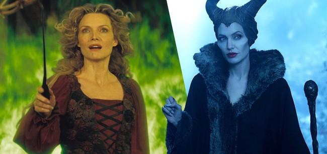 Michelle Pfeiffer y Angelina Jolie