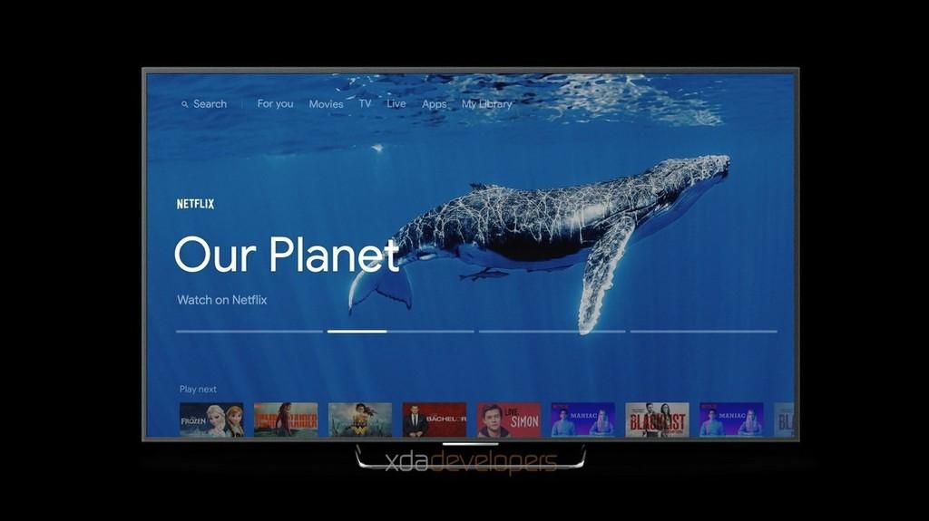Se filtra la mas reciente interfaz de Android-OS TV en vídeo: de este metodo será su renovación mas importante