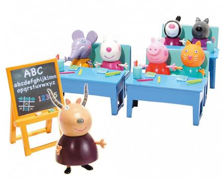 """El premio al juguete agotado de esta Navidad es para: """"Vamos al cole con Peppa Pig"""""""