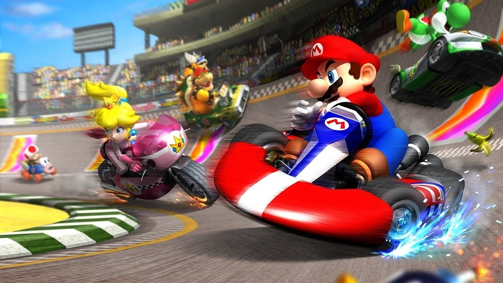 Four games of crazy races to make less hard the waiting of Mario Kart Tour for Android