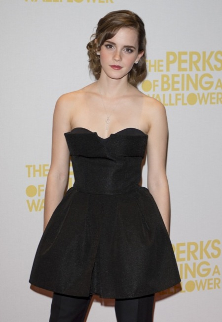 Emma Watson presenta ''The Perks Of Being A Wallflower' en Londres