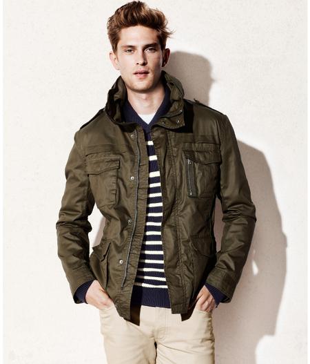 H&M chaqueta impermeable primavera