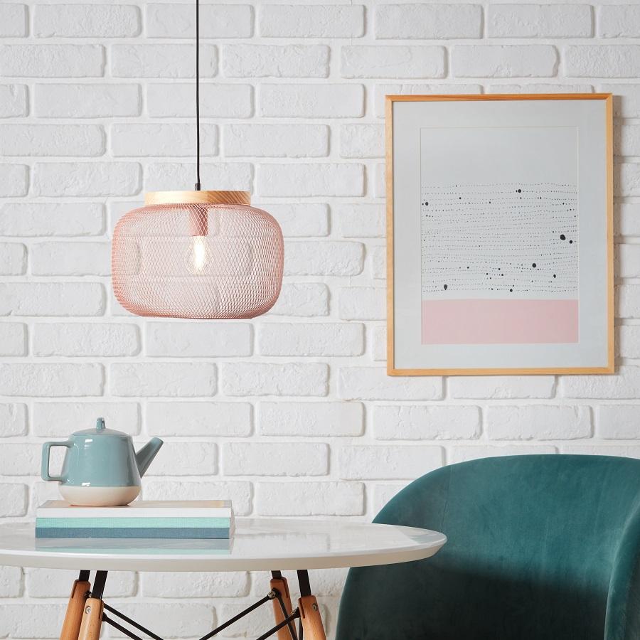 Lámpara de techo 99111/40 Giada plateada 1 luz