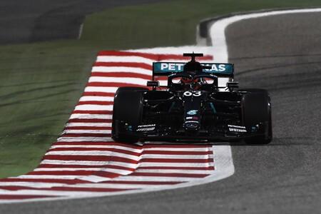 George Russell da un serio aviso a Valtteri Bottas en su estreno con Mercedes