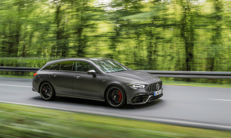 Mercedes-AMG CLA 45 4Matic+ Shooting Brake: hasta 421 CV y 270 km/h, ahora con carrocería familiar