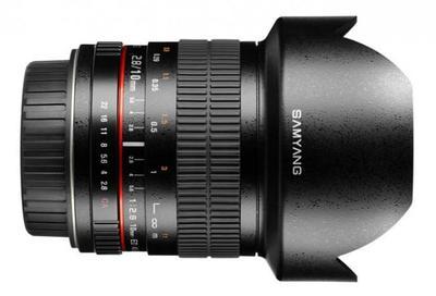 El esperado objetivo de 10 mm f/2.8 de Samyang llegará a principios de abril