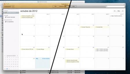 Modifica el aspecto de la aplicación Contactos y Calendarios