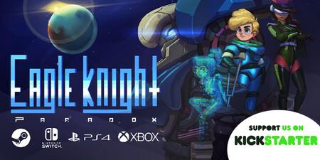 'Eagle Knight Paradox': el nuevo juego mexicano que mezcla 'Metroid' con 'MegaMan' y que busca llegar a PS4, Xbox One, Switch y PC