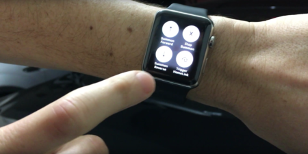 El Model S puede aparcar él solito mediante Apple Watch