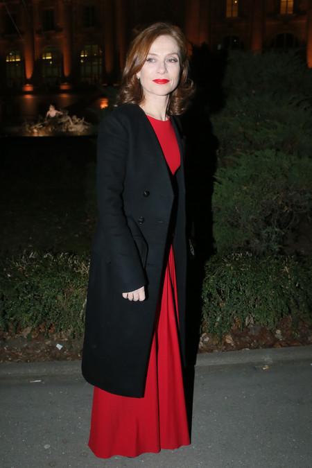 isabelle huppert looks estilismo alfombra roja sidaction
