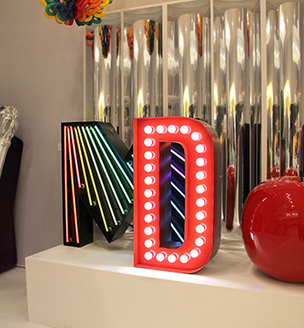 Letter Neon Graphic Lamp 02