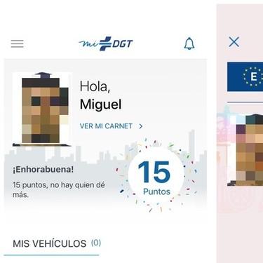 miDGT: ya podemos tener nuestro carnet de conducir español en el iPhone