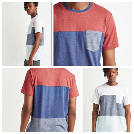 Camiseta con diseño Color-Block para chico por 3,99 euros en las rebajas de Forever 21