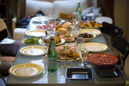 Cuánta cantidad de comida preparar para conseguir un menú óptimo