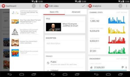 Youtube Creator Studio Android