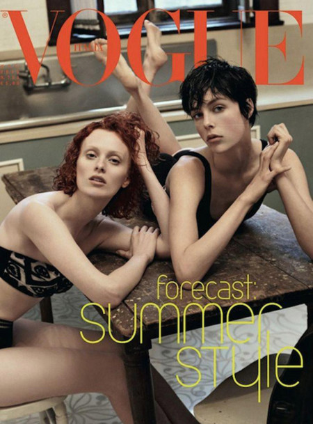 Vogue IT Meisel Edie Campbell