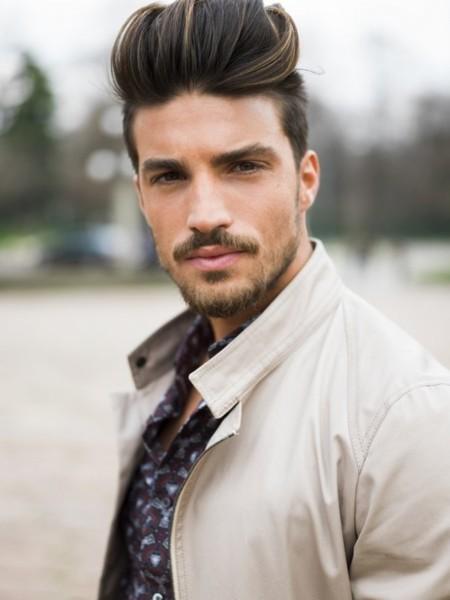 Mariano di Vaio, un chico guapo, con pelazo y que encima tiene estilo vistiendo