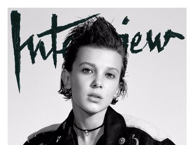 Quédate con su nombre: Millie Bobby Brown y su portada para Interview Magazine