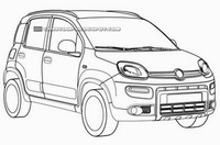 Se filtran las patentes del nuevo Fiat Panda 4x4